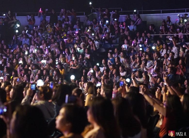 MAYs and Wannables during Park Ji Hoon Manila
