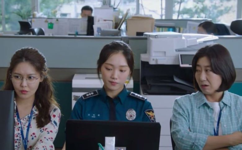 Lee Sung Kyung Movie as a cop