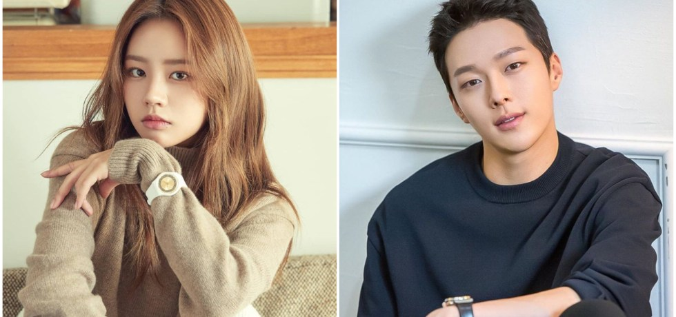Hyeri and Kiyong