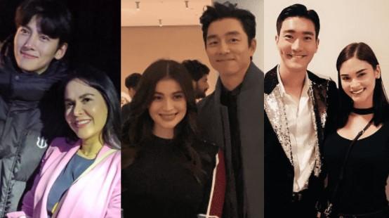 Filipina Celebs noticed by Korean Celebs