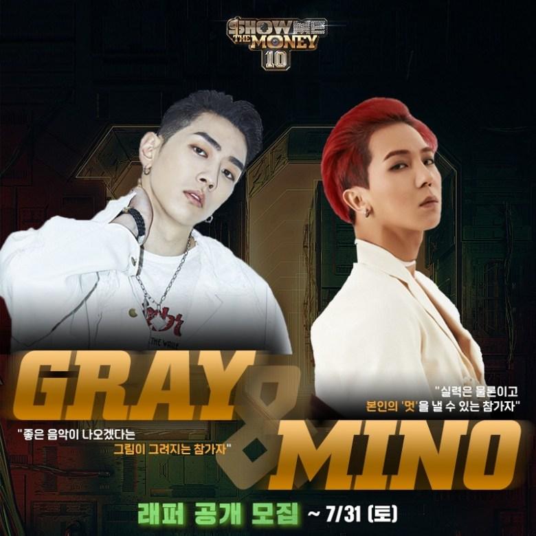GRAY x Mino SMTM 10