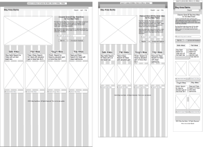 image of Bay Area Barks Wireframe
