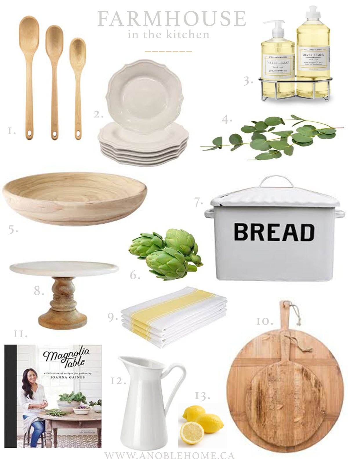 Adding a Touch of Farmhouse to your Kitchen