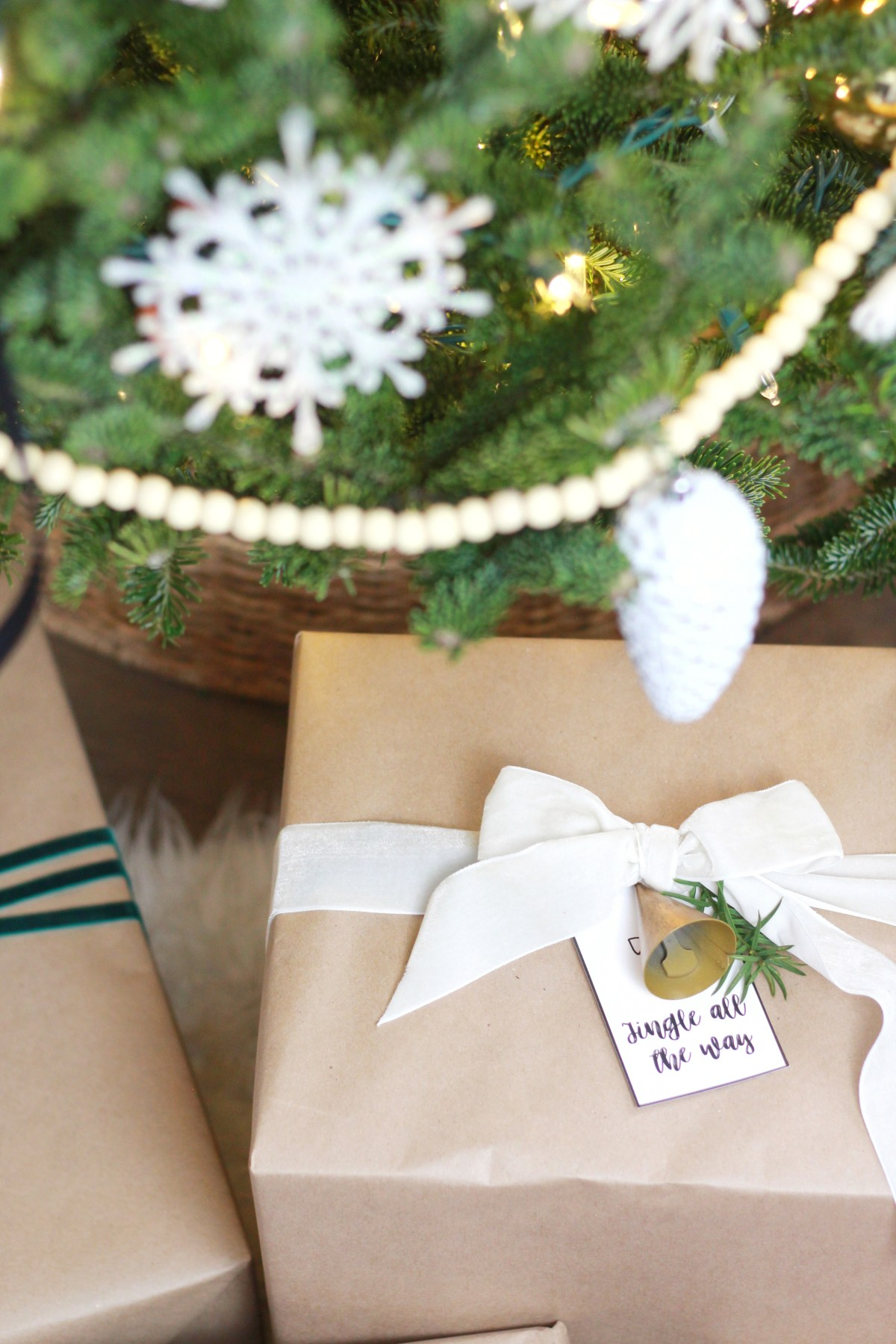 Wrap it up pretty with our free holiday gift tags
