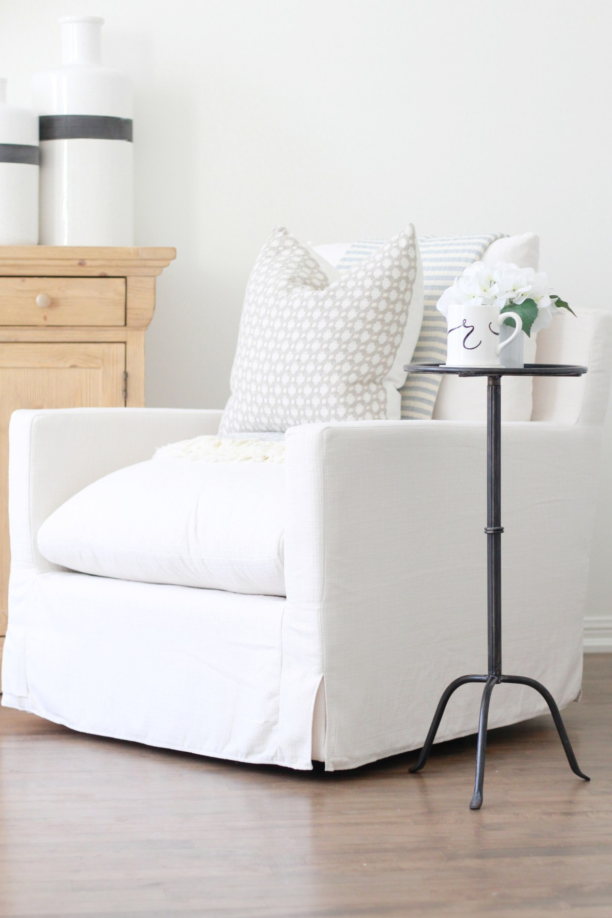 A review of the Brynn Swivel Chair by World Market