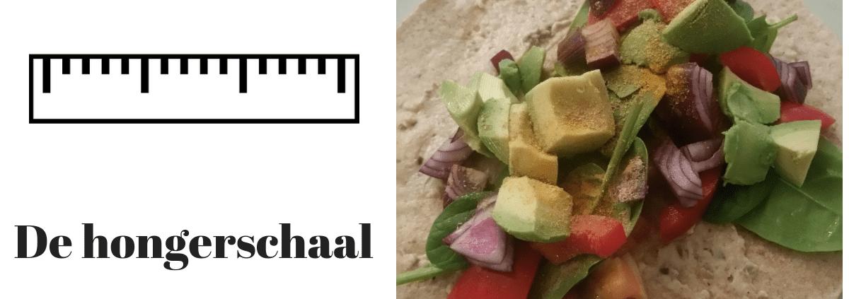 tool overeten hongerschaal afvallen zonder dieet