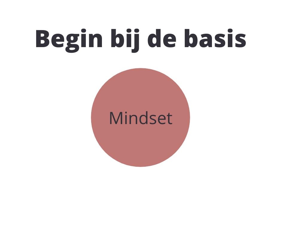 mindset is de basis