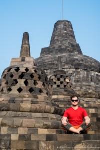 Mike at Borobudur (1 of 1)