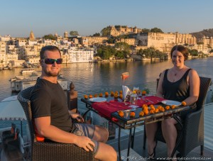 My 25th Birthday Dinner at Lake Pichola Hotel, Udaipur