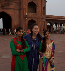 I never felt uncomfortable as a woman in India, not once!