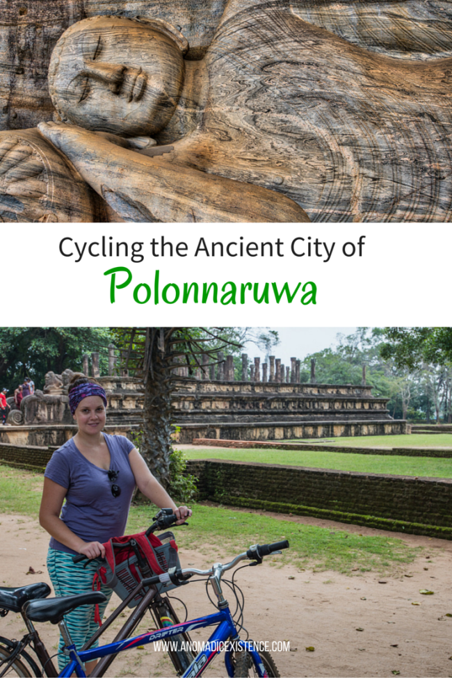 Cycling the Ancient City of Polonnaruwa