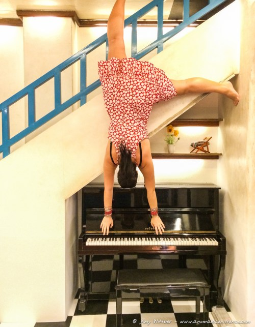 Perhaps my piano playing skills would be more superior playing this way...