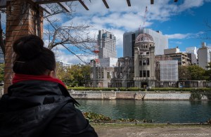 A-Bomb Dome, Genbaku Dome, Hiroshima Prefectural Industrial Promotion Hall, Hiroshima, Japan