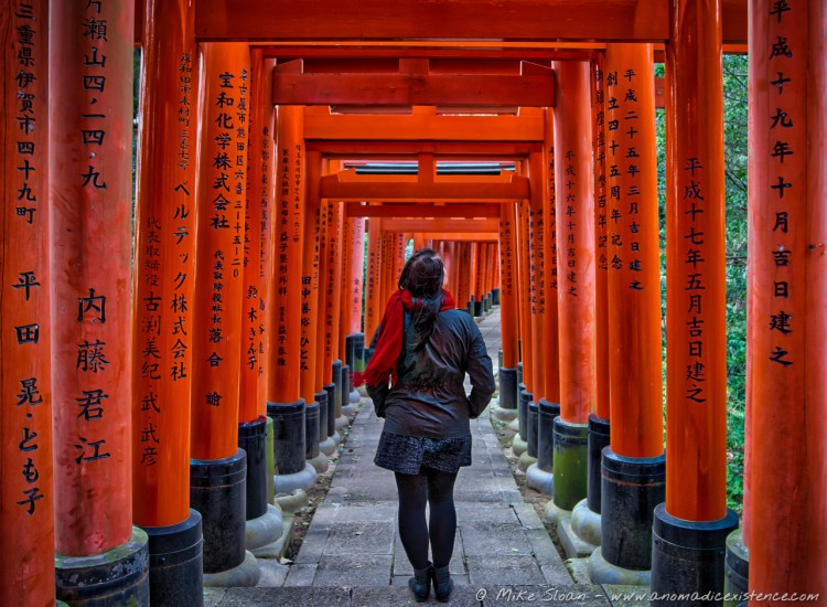 Fushimi Inari Shrine is a completely free attraction in Kyoto!