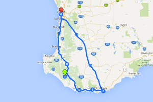 Our road trip through the south west of WA - Perth, Bridgetown, Pemberton, Walpole, Denmark, Albany and back to Perth!