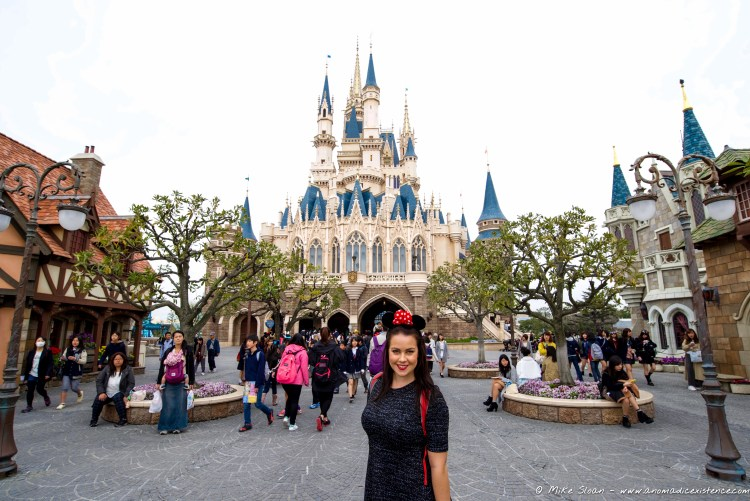 Tickets to visit Tokyo Disney were on our must-do list!