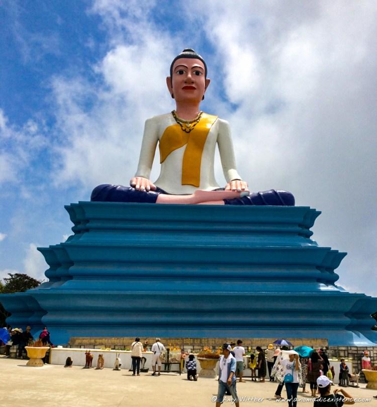 Lok Yeay Mao Monument, Cambodia, Kampot, Bokor National Park, Buddha Statue (1 of 1)