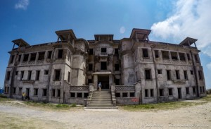 Abandoned Palace, Bokor National Park, Kampot, Cambodia.