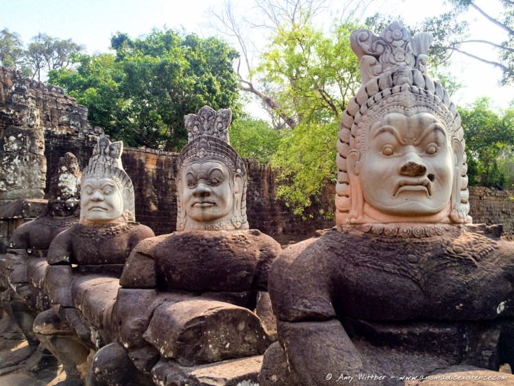 Angkor Thom, South Gate, Angkor Wat, Angkor Wat Archaeological Park, UNESCO, World Heritage Site, Siem Reap, Cambodia