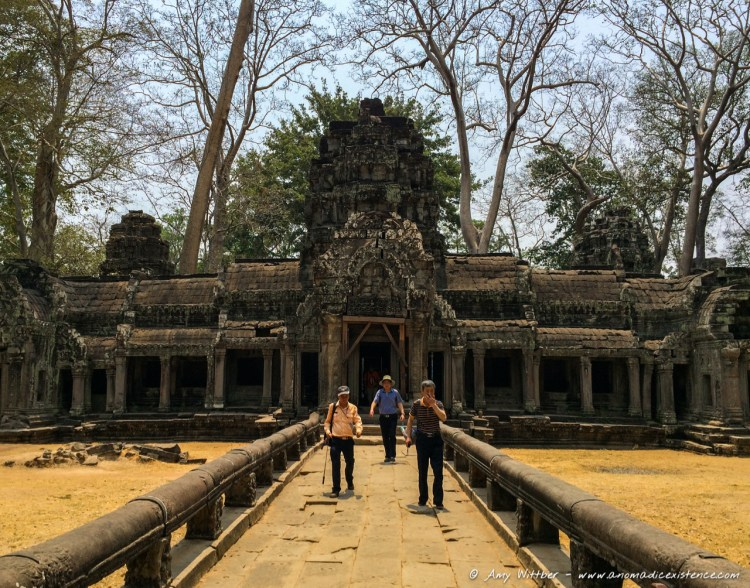 Ta Phrom Temple, Bayon Temple, Angkor Thom, South Gate, Angkor Wat, Angkor Wat Archaeological Park, UNESCO, World Heritage Site, Siem Reap, Cambodia