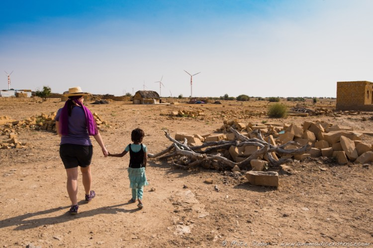 Amy, Thar Desert, Jaisalmer, Rajasthan, India