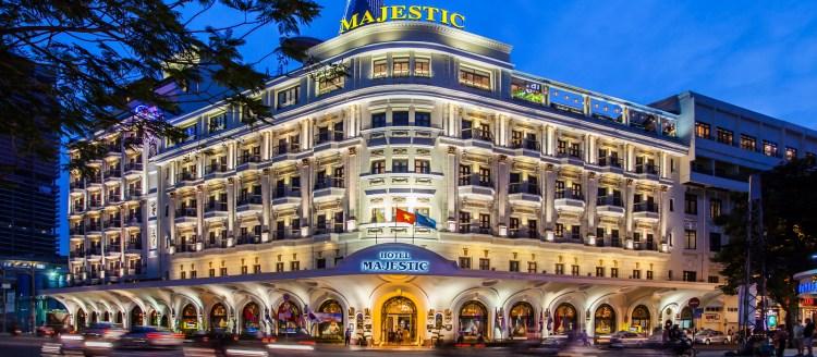 Hotel Majestic Image via Hotel Majestic Saigon