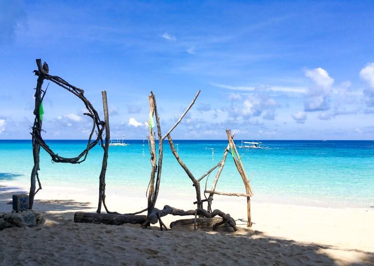 The glorious Puka Beach on Boracay.