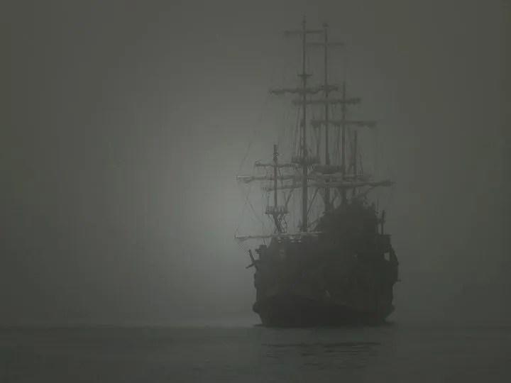 Navire fantôme Zebrina
