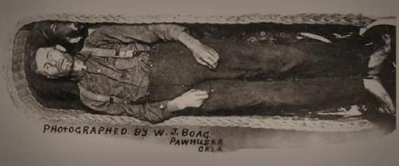 Le cadavre d'Elmer McCurdy