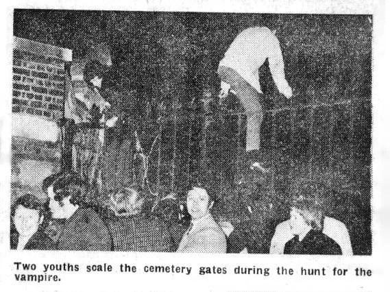 Chasse aux vampires au cimetière de Highgate