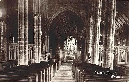 Église du Temple (Sainte-Croix), City, Bristol