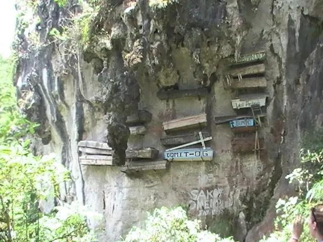 Cercueils Sagada