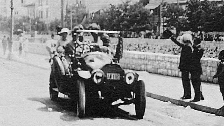 La voiture de Franz Ferdinand