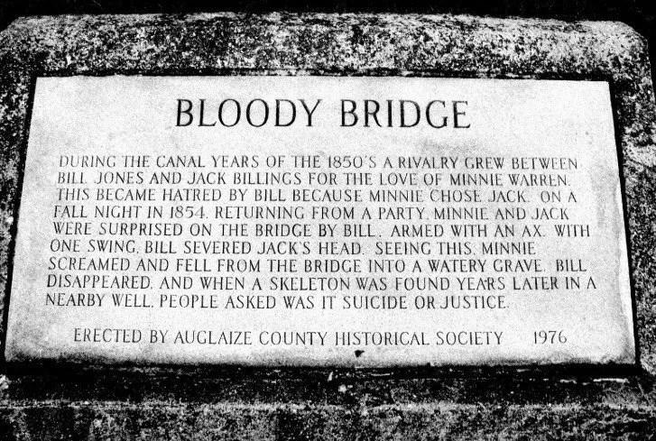 Pont sanglant de l'Ohio