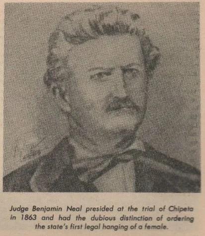 Le juge Benjamin F. Neal