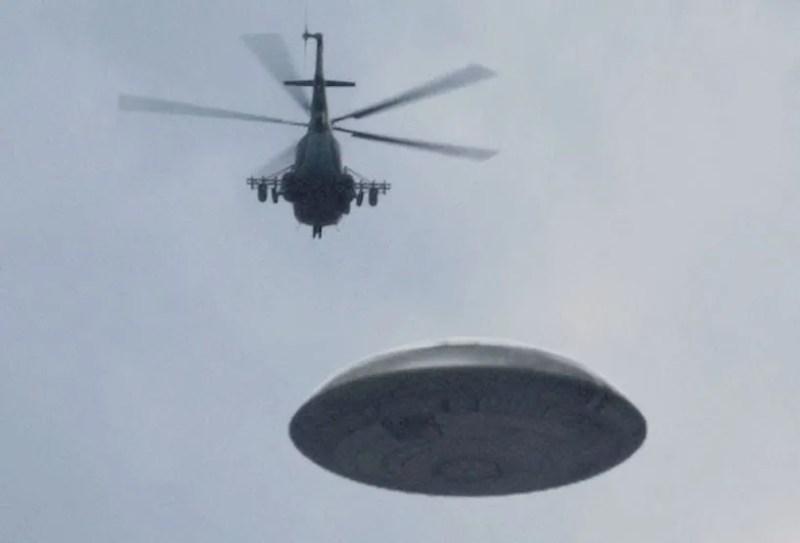 Hélicoptère OVNI