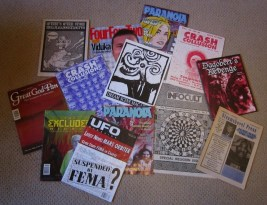 Assortment of Alt-Media Zines from the 1990s