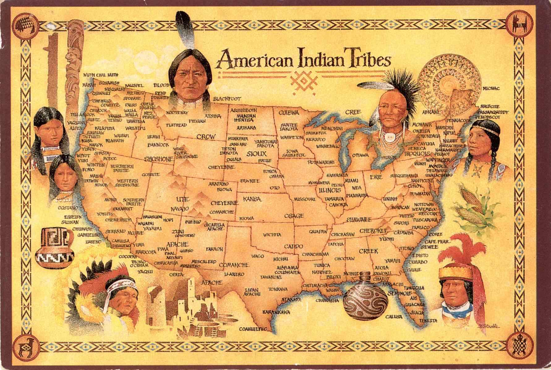 5 Lies Your School Taught You About Native Americans
