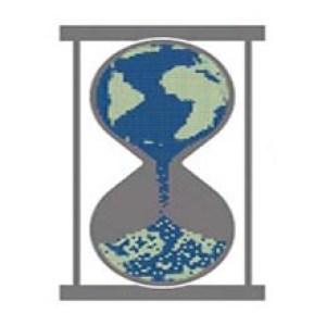 Lumea planeta pamant clepsidra
