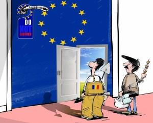 România – de la Europa de mâna a doua la Europa la două mâini