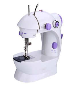 Electric sewing machine with paddle