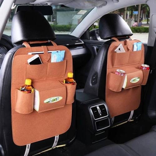 Car Seat Back Storage
