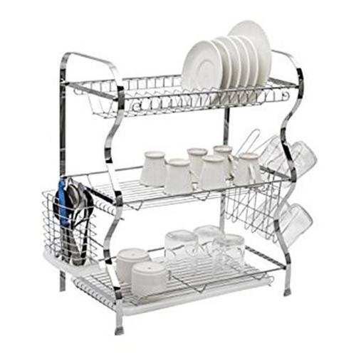 3 Layer Kitchen Dish Rack-1004