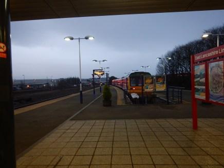 Early Morning At Blackburn Station