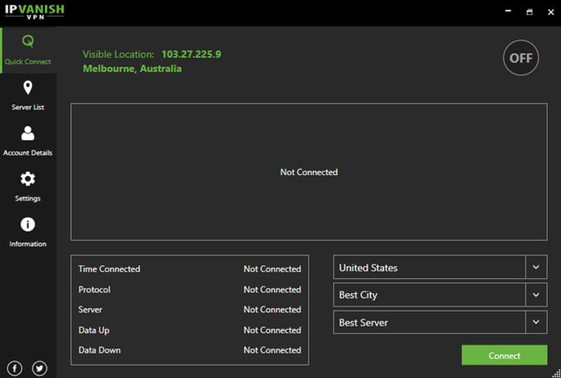 IPVanish Desktop Client