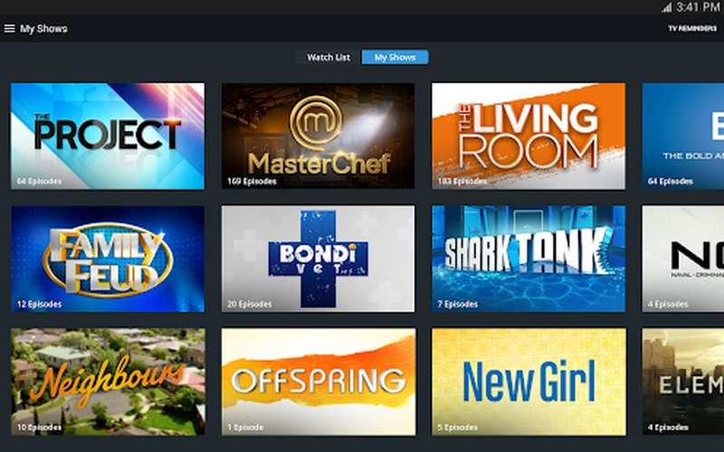 TenPlay Top Shows