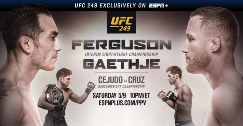 UFC 249 Bouts