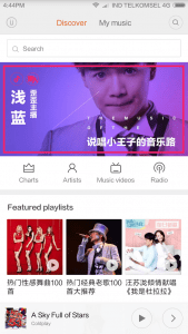 Music Player ROM China