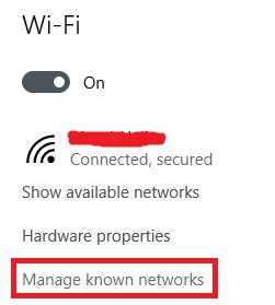 manage-known-networks