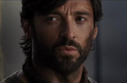 Kiss the drover (Hugh Jackman)